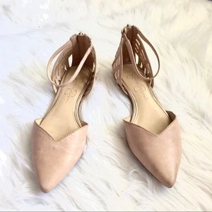 [Jessica Simpson] Nude Pointed Toe Flats